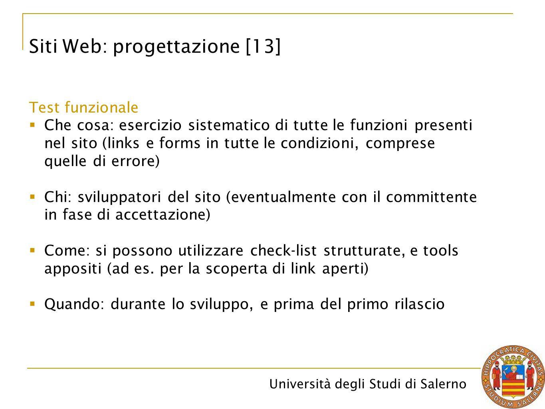 Siti Web: progettazione [13]